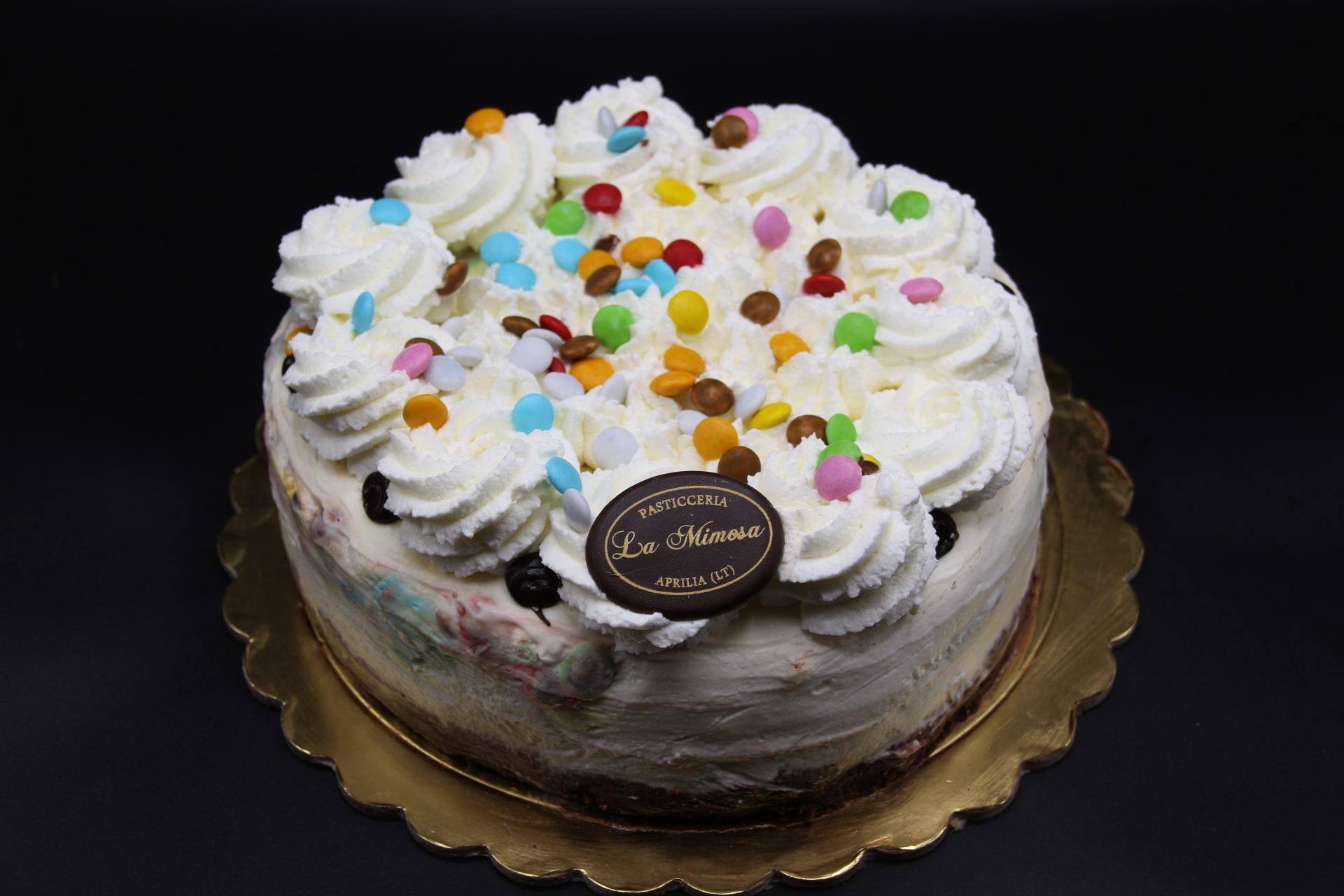 Cheesecake m&m's